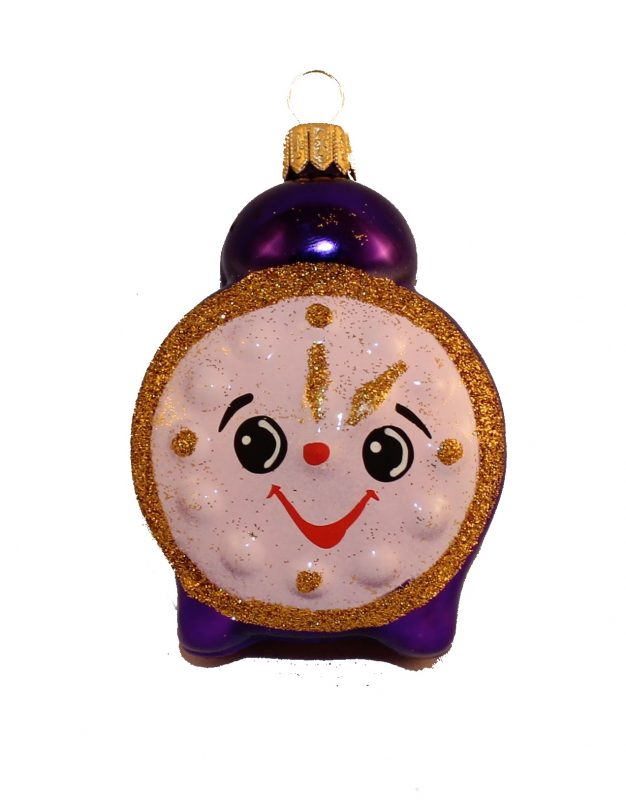 Glass Christmas figurine alarm
