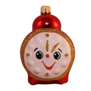 glass christmas figurine alarm