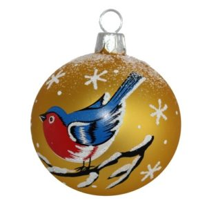 Blues Christmas Ball - Glass Christmas Ornaments