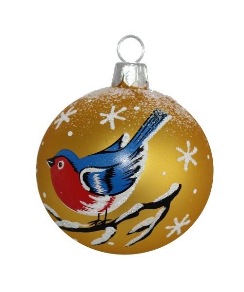 Blues Christmas Ball - Glass Christmas Ornaments