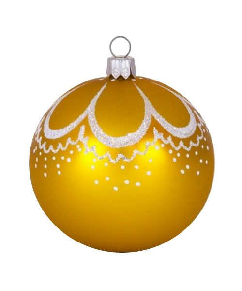 curl gold glass christmas ball glass christmas ornaments and tree decorations - Christmas Ball Decorations