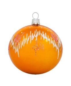 Frost Glass Christmas Ball - Glass Christmas Ornaments and Tree Decorations