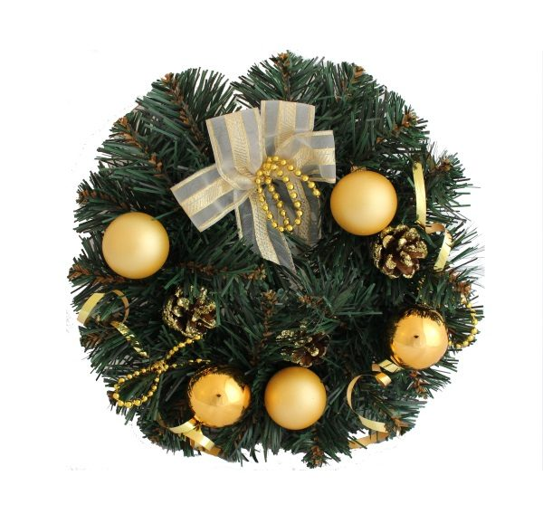 christmas bauble garlands