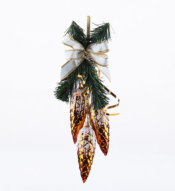 pinecone garland