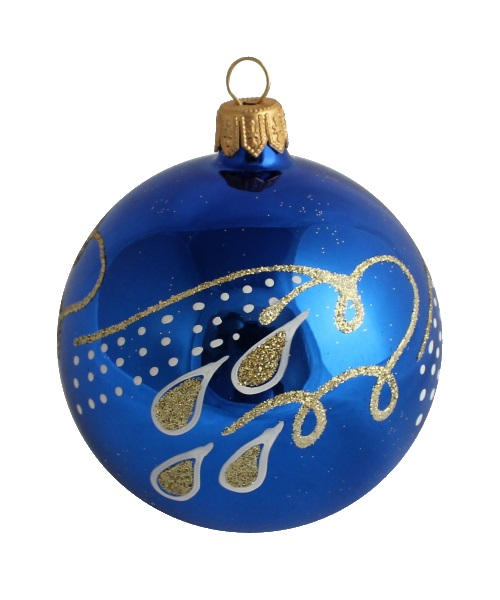 Tears Glass Christmas Ball - Glass Christmas Ornaments and Tree Decorations