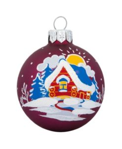 Sunny Glass Christmas Ball - Glass Christmas Ornaments