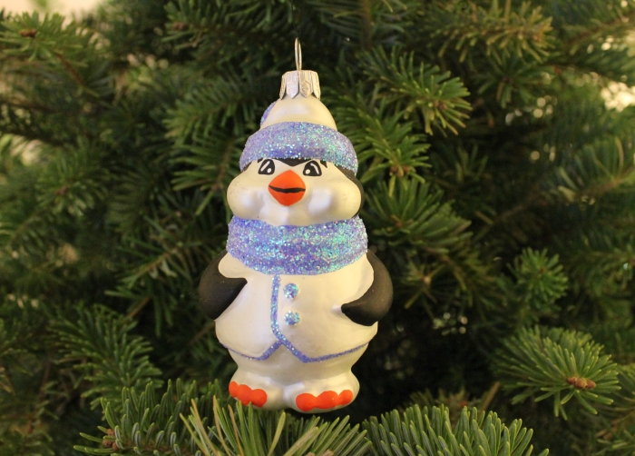 penguine christmas ornament