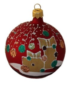 Gift - Glass Christmas Ball Ornaments