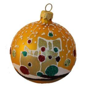 Gift - Glass Christmas Ball Ornaments