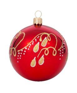 Tears Glass Christmas Ball - Glass Christmas Ornaments and Tree Decorations