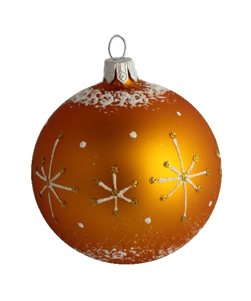 Wizard Glass Christmas Ball - Glass Christmas Ornaments and Tree Decorations